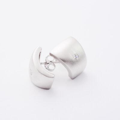 hõbedast kõrvarõngad