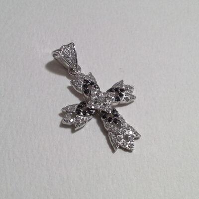 valge kuld rist